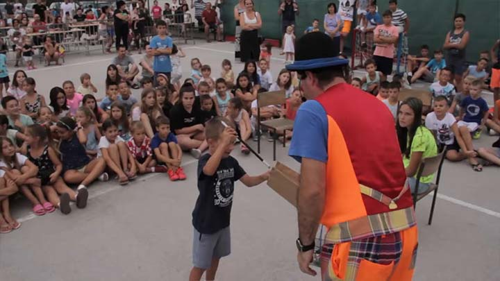Predstava za djecu - Dance and fun magic show